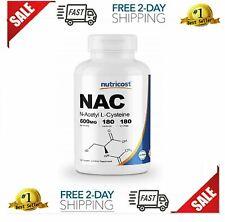 N-Acetylcysteine NAC Pills N-Acetyl-L-Cysteine Supplement Supports Liver Lungs