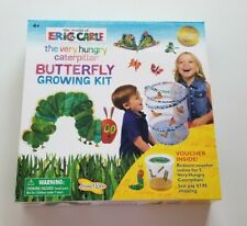 New ListingInsect Lore Eric Carle Very Hungry Caterpillar Butterfly Growing Kit w/ Voucher