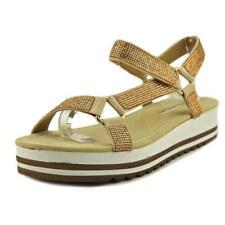 Sandali e scarpe beigi per il mare da donna mare tacco basso ( 1,3-3,8 cm )