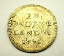 Brandenburg Ansbach 2 1/2 Kreuzer 1775 Alexander 1757-1791 sehr schön