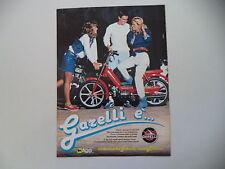 advertising Pubblicità 1982 GARELLI NOI 50