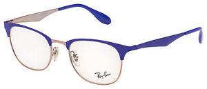 Ray-Ban Eyeglasses RX 6346 2972 50 Bronze-Copper; Violet Frame [50-19-140]