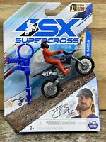 SX Supercross Justin Barcia #51 diecast Toy  1:24 True Metal 1 Edition 2021 NEW