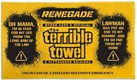 NEW Pittsburgh Steelers Renegade Styx Officially Licensed Terrible Towel NFL Fan