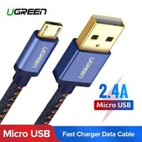 Ugreen Micro USB Cable Fast Charger Data Cable Denim Braided For Samsung HTC LG