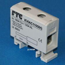 FTG bloc collecteur kviac 11050g 1 broches al/CU 2,5-50mm² 160a/690vac