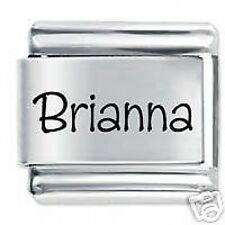 BRIANNA Name  - Daisy Charms by JSC Fits Classic Size Italian Charm Bracelet