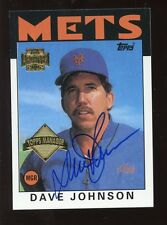 2002 Topps Archive Autograph Issue Davey Johnson NM/MT