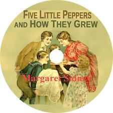 Five Little Peppers and How They Grew, Margaret Sidney Audiobook on 1 MP3 CD