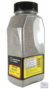 B1394 Woodland Scenics Shaker Grey Blended Medium Ballast