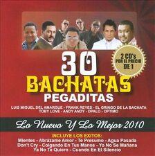 Various Artists-30 Bachatas Pegaditas: Lo Nuevo Y Lo Mej CD NEW
