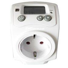 Termostato Digital en Enchufe - Controlador Temperatura para Calor o Frio