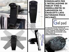 SUPPORTO AUTO PER TABLET SU SUPERFICI RUVIDE iPad 4/3/2, Galaxy Tab Galaxy Note