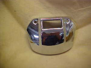 Harley,Sportster,71-91 head light visor cover with cut out for indicator lights
