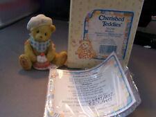 "1995 Cherished Teddies ""Matthew"" #156299 Nib Lqqk!"