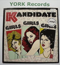 "KANDIDATE - Girls Girls Girls - Excellent Condition 7"" Single RAK 295"