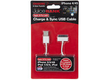 i phone charger usb cable 3g/3gs/4/4s i pod new quality retractable i charge