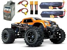 Traxxas X-MAXX 8S 4WD Brushless TSM RTR orange +2x4S Lipo, Lader - 77086-4ORNGS3