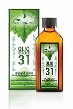 OLIO ERBE 31 BIO NATURELL - 100ml made in italy