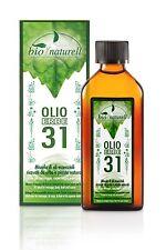 OLIO ERBE 31 BIO NATURELL - 100ml made in italy