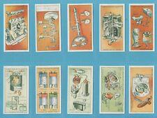 Lambert & Butler cigarette cards - HOW MOTOR CARS WORK - Full set