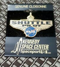 Kennedy Space Center Shuttle Pilot Cloisonne Pin