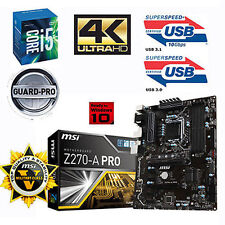 Bundle Intel Core i5 7600K 4x 4,20GHz+MSI Z270-A PRO USB3.1-8GB PC2400
