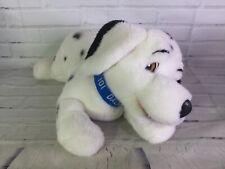 Vintage Walt Disney 101 Dalmatians Plush Stuffed Animal Dog Puppy Blue Collar