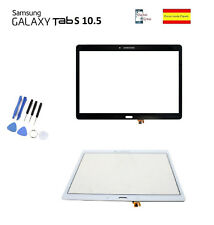 CRISTAL DIGITALIZADOR TACTIL SAMSUNG GALAXY TAB S 10.5 T800 T805 BLANCO NEGRO