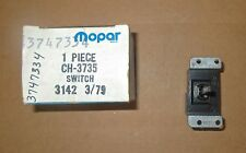 Mopar # 3747334 2-Speed Wiper/Washer combo switch 1978 Fury Charger, Cordoba NOS