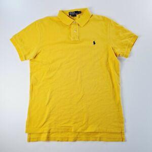 RAPLH LAUREN POLO Mens Yellow Shirt Size Large