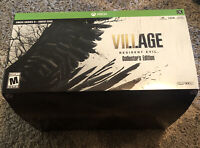 Resident Evil Village Collector's Limited Edition Xbox/Series X Empty Box