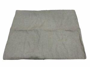 West Elm Hemp Cotton Solid Standard Sham Desert Flax NEW/Open Standard Size