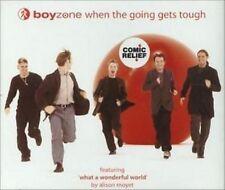 CD Single  Boyzone : When The Going Gets Tough