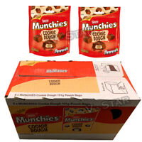 MUNCHIES COOKIE DOUGH FLAVOUR & CRUNCHY BISCUIT CENTRE POUCH - 8 x 101g FULL BOX