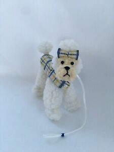 Handmade Poodle Dog For Vintage Barbie Silkstone Doll Dogs N Duds Inspired