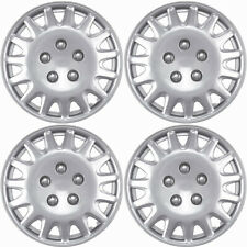 """4 PC Hubcaps Fits 03-07 Honda Accord 14"""" Chrome Replacement Wheel Skin Cover"""