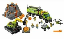 City Volcano Exploration 60124 Base Building Block Construction Toys 824pcs