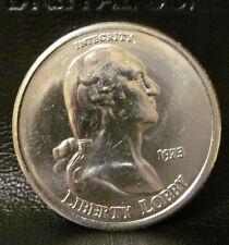 1973 Liberty Lobby 1 Ounce 999 Silver Round George Washington Bullion Coin RARE
