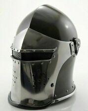 Medieval Barbuta Helmet Armour Helmet Roman knight helmets with liner