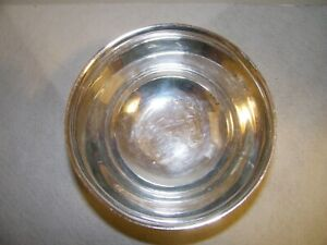 "7"" Wm Rogers Paul Revere Silverplate Bowl-- Reproduction"