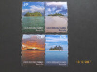 N0-1--2015  COCOS   ISLAND  ISLANDS  OF  COCOS 4  STAMPS  ---MINT -- MNH