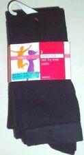 Pack 2 Calcetines Niñas sobre Rodilla Azul Marino M&S Escuela 3-6 Años 8 1 /