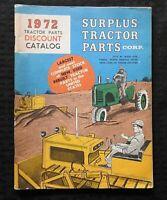 "1972 ""SURPLUS TRACTOR PARTS CATALOG CORP FARGO ND NORTH DAKOTA CASE OLIVER DEERE"