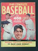 1949 COMPLETE BASEBALL Magazine - DiMaggio Musial Williams over 400 Photos M1889