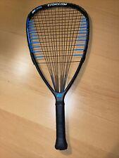 E-Force Takeover 190g Tri-Tear  Racquetball 3 5/8 Grip Racquet New String EUC!