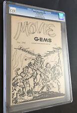 Movie Gems Ashcan #nn # (1944, DC ) CGC  Covers Only RARE! boy Commandos