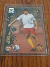 2010 PANINI Premium Rare Star Metalizied STEVEN GERRARD World Cup Card