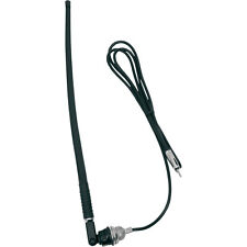 Jensen Top-Side Mount Rubber-Mast Antenna with Cable for Harley Motorcycles