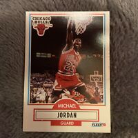 1990 Fleer Michael Jordan #26 Basketball Card See Pics Surface Dent. Sharp!